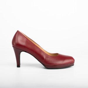 Lia escarpin-bordeaux-chaussures-albi-les-pymprenelles